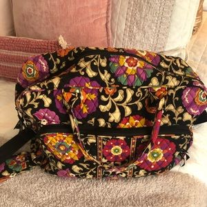 Vera Bradley Grand Weekender Travel Bag